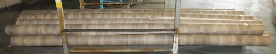 11x 4M Wood effect vinyl floor covering - various lengths - differing wood patterns