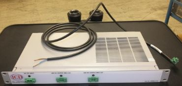 ICD 24V DC input - 48V DC output panel