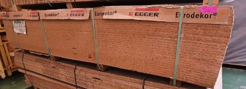 28x EEGER Eurodecker chip board panels - LOCATED AT OUR CROFT SITE