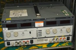 Thurlby Thandar PL320QMD Quad Mode Dual power Supply Unit 32V-2A - missing buttons