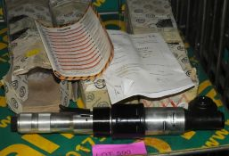 3x Desoutter H410-N-60 pneumatic screwdriver / nutrunners