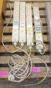 4x gang plugs
