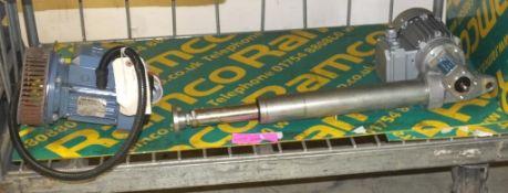 ABB M2VA motor, Lenze motor