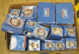 40x SKF timing belt tensioner pulley assemblies
