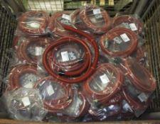 42x Mirka Vacuum hoses 1.8M x 28mm - MPA0412