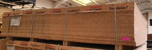 32x EEGER Eurodecker chip board panels - LOCATED AT OUR CROFT SITE