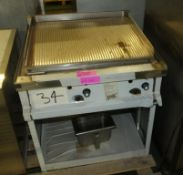 Gas Fired Griddle W700 x D760 x H700mm.