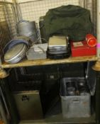 Field Kitchen set - cooker, oven, sieve set in carry box, norweigen food boxes