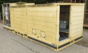 Abolution transportable container shower and toilet system AS SPARES ONLY LOCATED AT OUR CROFT SITE
