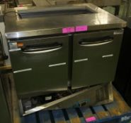 Refrigerated Storage / Serving Unit W910 x D700 x H870mm - For spares or repair.