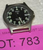 MWC L Military watch - in need of repair - missing winder