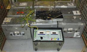 10x Richmond AC Frequency + Power Test Units