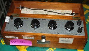 Lionmount Decade Resistance Box Tester