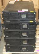 5x Eaton 9135 UPS units