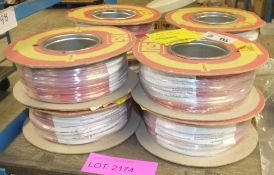 RS Tri-Rated switchgear cable 22AWG 0.5mm sq 100M - 8 reels
