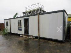 Large Cabin - 10.3M L x 3.1M wide x 2.7M high - LOCATED IN SOUTHAMPTON - OWN COLLECTION PREFERRED