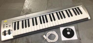 M-Audio KeyRig 49 Synth-Action Keyboard USB