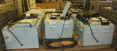 5x Fosters Electrical Test Set Units
