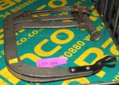 Sykes-Pickavant valve spring compressors