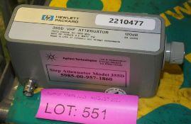 HP 355D VHF Attenuator 120dB