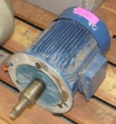 Heavy duty Electrodrives motor - see picture of plate for details