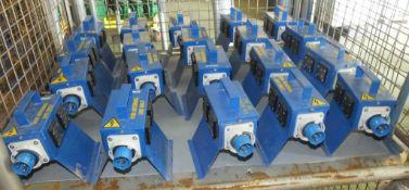 20x Lewden 16A-6h/240v-2p+ junction boxes