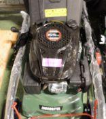 Lawnmaster KCL18 Petrol Lawnmower.