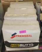 Premseal / Hy Butyl rolls of sealing strips - DGR 30 8mm bead x 6M