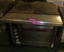 Charvet Hot Plate & Oven - Spares or repair.