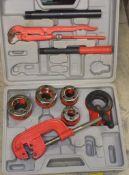 Pipe threading kit BSPT