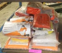 Emergency thermal protective aids