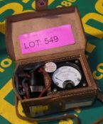 Ammeter Unit with Case