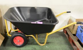 Large garden wheelbarrow - slightly bent frame