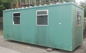 Cabin - 6M x 2.5M x 2.5M - LOCATED AT OUR CROFT SITE