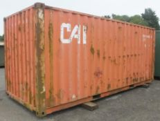20ft ISO container - LOCATED AT OUR CROFT SITE