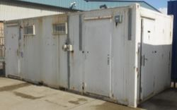 Porta Cabins & ISO Containers including Hook Loader laundry unit - LOCATED IN THE SKEGNESS AREA