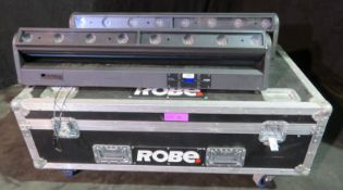 Pair of Robe CycFX8 in twin flightcase - Power hours: 9984 & 9848 - working