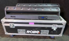 Pair of Robe CycFX8 in twin flightcase - Power hours: 9155 & 9037 - working
