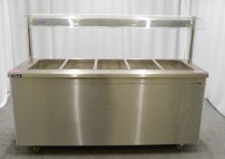 Victor Carib 2.419 bain marie & hot cupboard, 1 phase electric