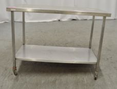 Preparation table 1200mm W x 650mm D x 870mm H