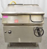Moorwood Vulcan manual tilt bratt pan, natural gas