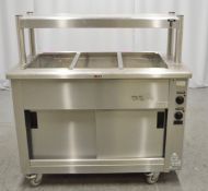 Victor SKEP12Z bain marie & hot cupboard, 1 phase electric
