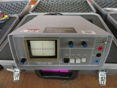 Huntron Tracker 1000 fault locator in case