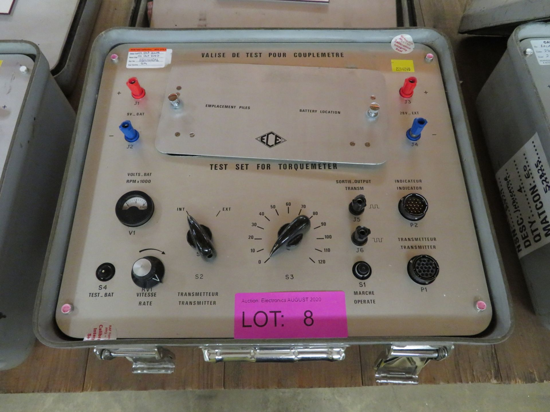 Lot 8 - Test Set for Torquemeter