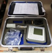 IFR 2841B digital communications analyzer in case