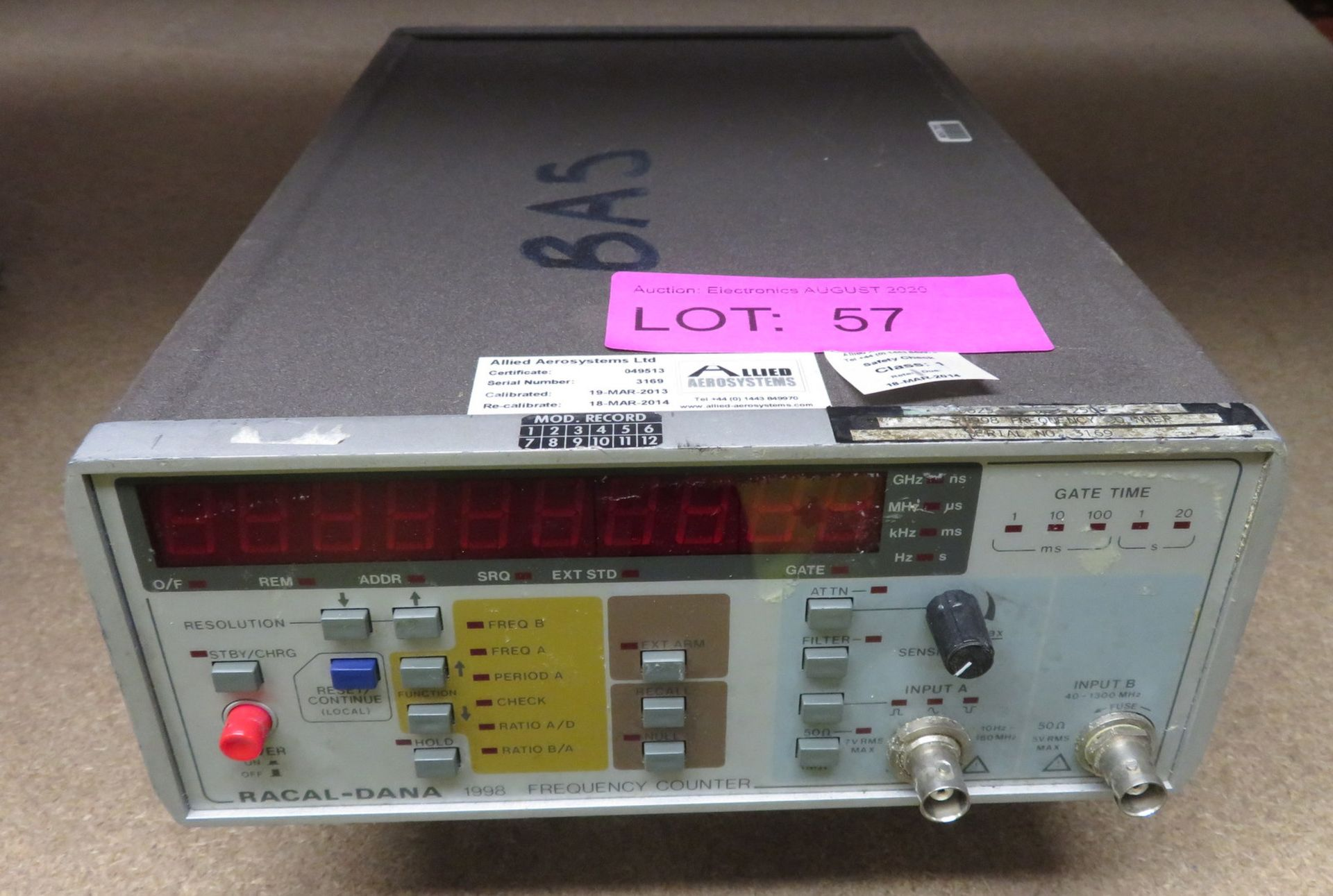 Lot 57 - Racal Dana 1998 frequency counter