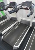 Cybex Treadmill Model: 770T, Working Condition With TV Display Monitor.