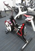 Watt Bike Pro Exercise Bike, Complete With Model B Display Console.