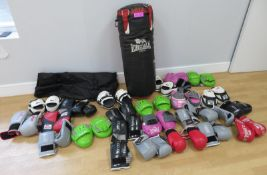 Various Boxing Equipment. Perfect For Boxercise Classes. See Description For Contents.