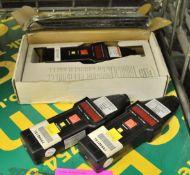 3x Compact CT7 Microprocessor Tachometers